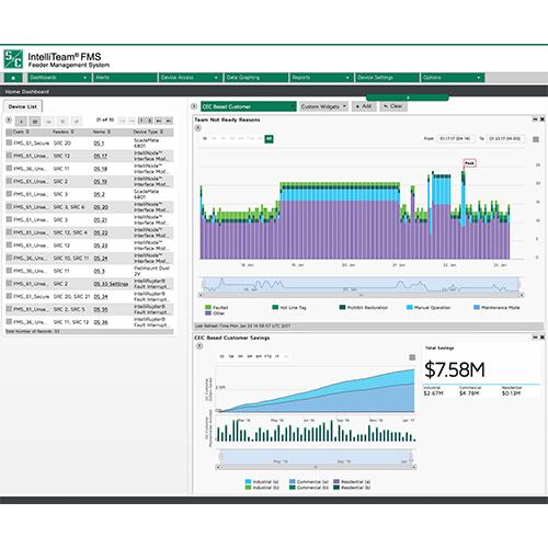 Vista Underground Distribution Switchgear: IntelliTeam® SG Automatic Restoration System